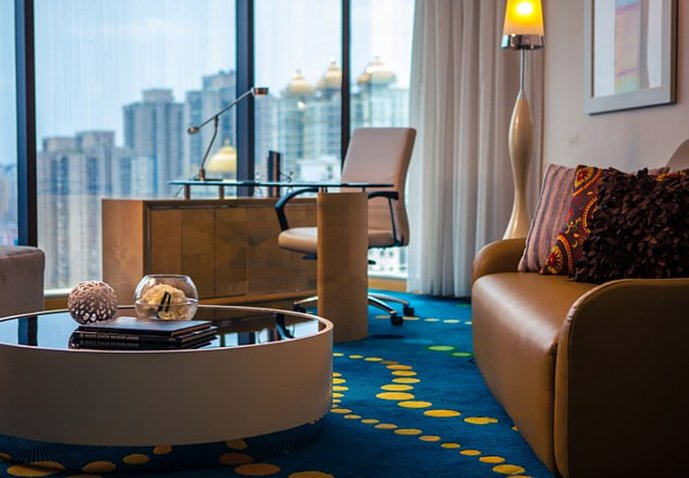 Renaissance Shanghai Yu Garden Hotel Vista de la habitación