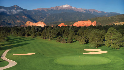 Garden of the Gods Club and Resort Colorado Springs - Hole 9 West