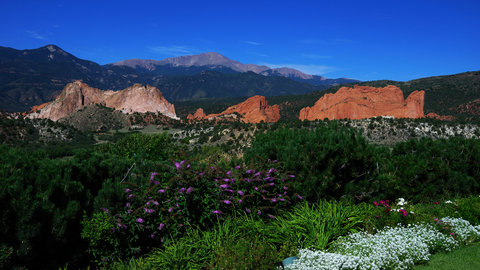 Garden of the Gods Club and Resort Colorado Springs - Summer View