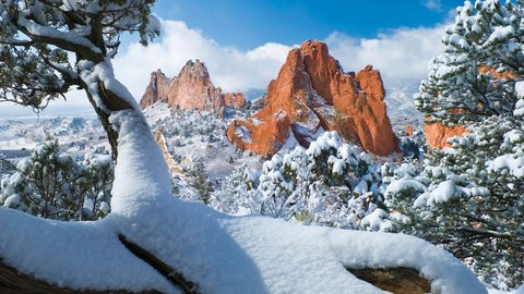Garden of the Gods Club and Resort Colorado Springs - Winter View