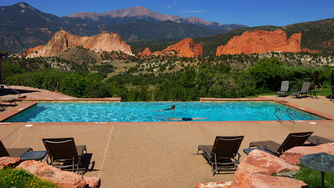 Garden of the Gods Club and Resort Colorado Springs - Spa Infinity Pool