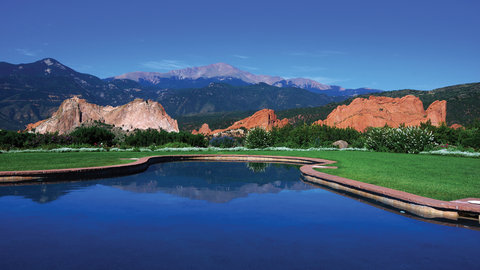 Garden of the Gods Club and Resort Colorado Springs - Reflection Pool