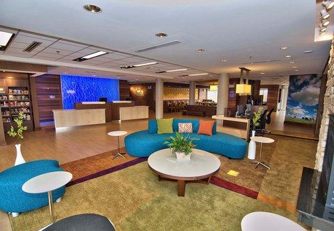 Fairfield Inn & Suites Towanda Wysox - Lobby