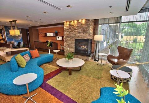 Fairfield Inn & Suites Towanda Wysox - Lobby Seating Area