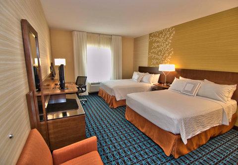 Fairfield Inn & Suites Towanda Wysox - Queen Queen Guest Room