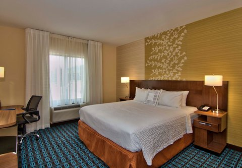 Fairfield Inn & Suites Towanda Wysox - King Guest Room