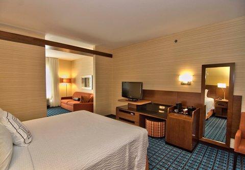 Fairfield Inn & Suites Towanda Wysox - King Suite