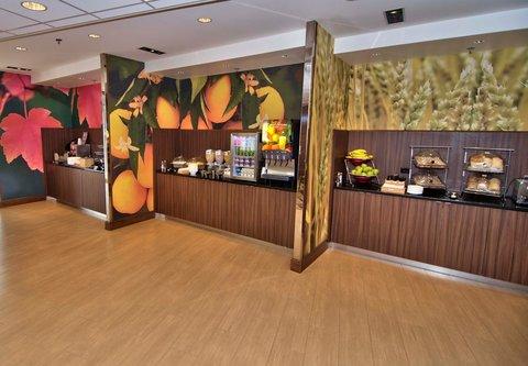 Fairfield Inn & Suites Towanda Wysox - Breakfast Buffet