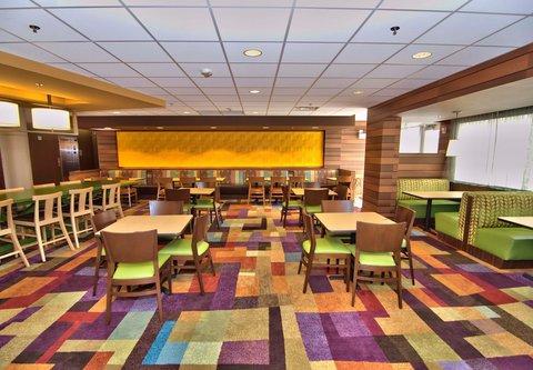 Fairfield Inn & Suites Towanda Wysox - Breakfast Seating Area