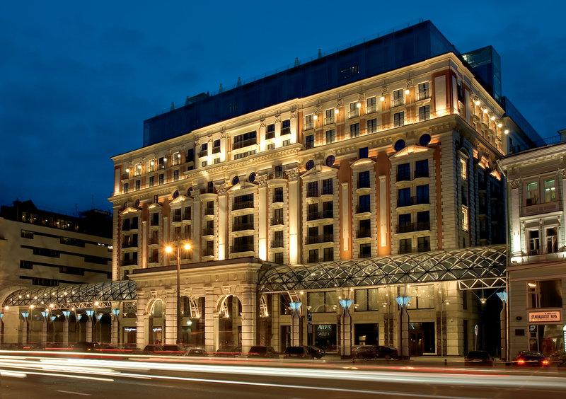 The Ritz-Carlton, Moscow Außenansicht