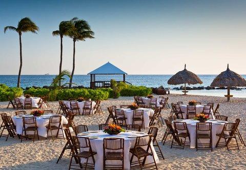 Curacao Marriott Beach Resort & Emerald Casino - Beach Reception