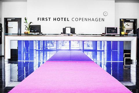 First Hotel Copenhagen - Reception