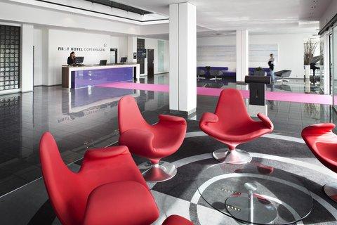 First Hotel Copenhagen - Lobby