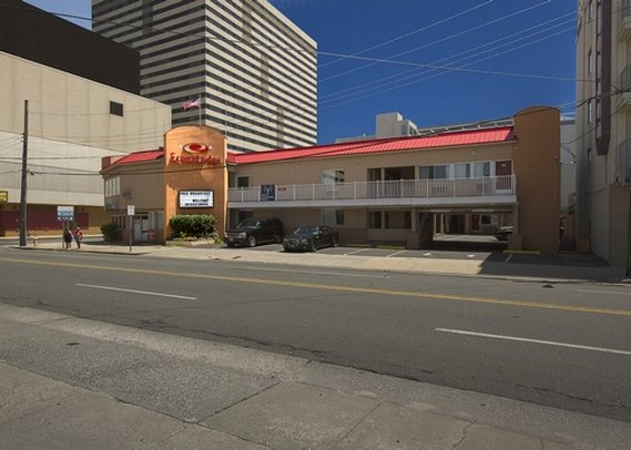 Econo Lodge Beach Block Atlantic City Set udefra