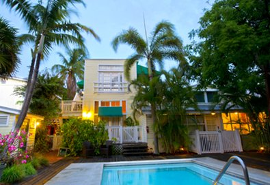 Merlin Guesthouse - Merlin Guesthouse Key West Pool Area