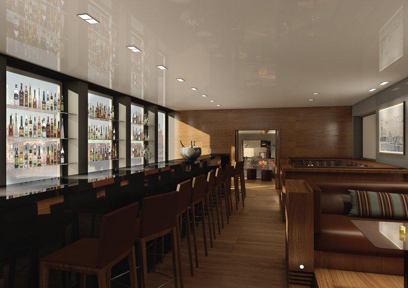 AMERON Hotel Speicherstadt Hamburg Bar at AMERON Hotel Speicherstadt Hamburg