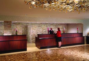 Lobby - Marriott Hotel College Park