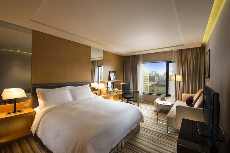 Hilton Beijing Hotel Szobakilátás