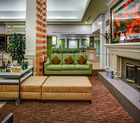 Hilton Garden Inn Danbury Hotel - Lobby Seating