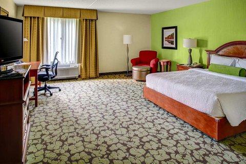 Hilton Garden Inn Danbury Hotel - King Bedroom