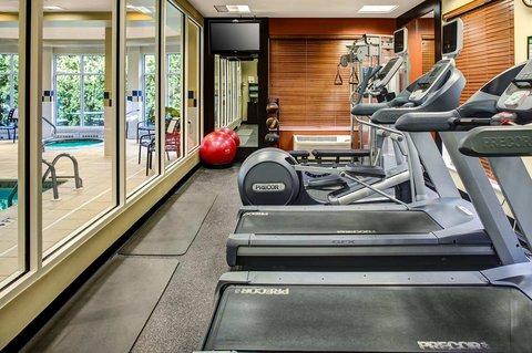 Hilton Garden Inn Danbury Hotel - Fitness Center Equipment
