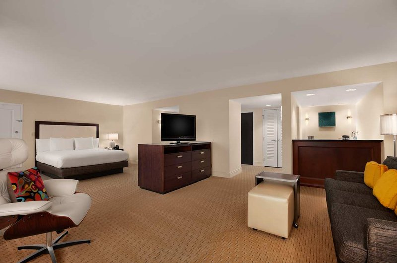Hilton Miami Airport View of room