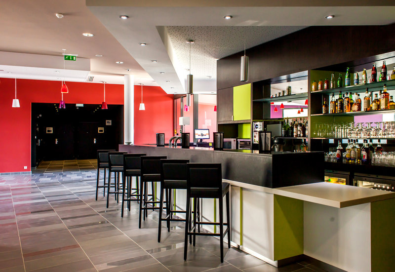 Holiday Inn Express Montpellier - Odysseum Bar/Lounge