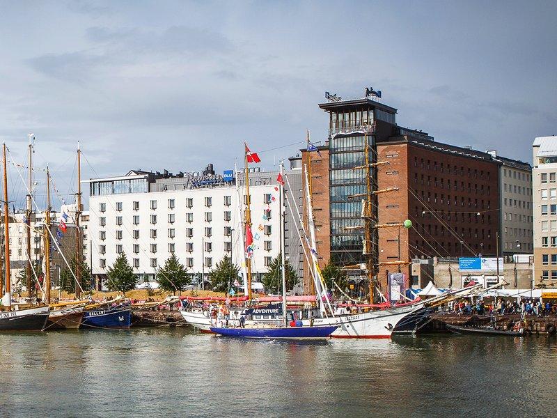 Radisson Blu Seaside Hotel, Helsinki Set udefra