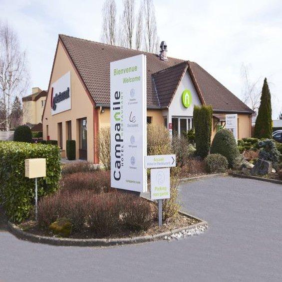 Campanile Nevers Centre - Varennes Vauzelles Außenansicht