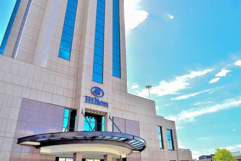 Hilton Glasgow Kilátás a szabadba