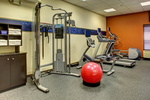 Hampton Inn Greenville-Woodruff Road - Fitness Center Machines