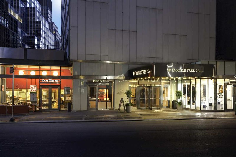 Doubletree Metropolitan Hotel New York City Ulkonäkymä