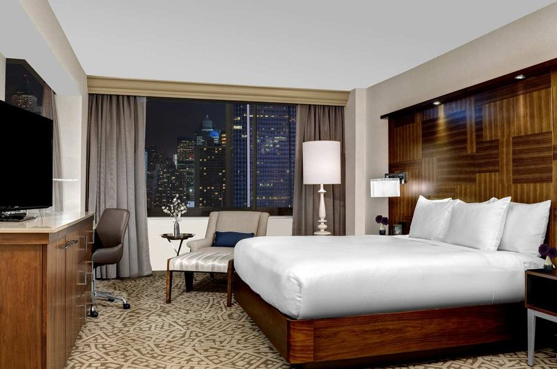 Hilton Times Square Vista do quarto