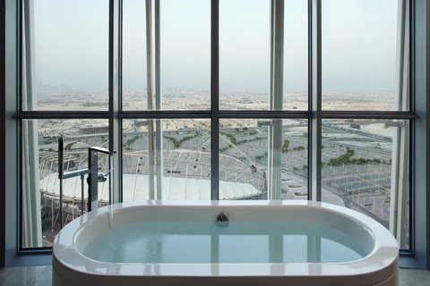 الشعلة الدوحة - Executive Bathroom