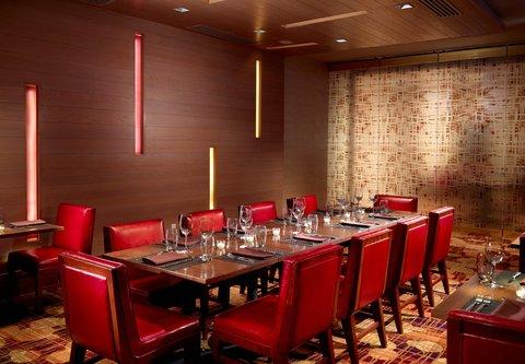 Chicago Marriott O'Hare Hotel - Brickton Private Dining Room