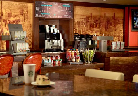 Chicago Marriott O'Hare Hotel - Starbucks Coffee Kiosk