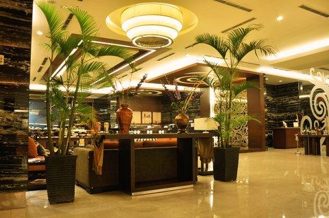 Swiss-Belhotel Danum Palangka Raya - Lobby Entrance To Tahai Lounge