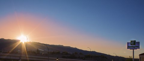 Holiday Inn EL PASO-SUNLAND PK DR & I-10 W - A beautiful sunset in El Paso