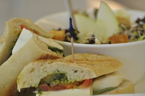 Northern Hotel Summit Hotels and Resorts - Caprese sandwich at Bernie s