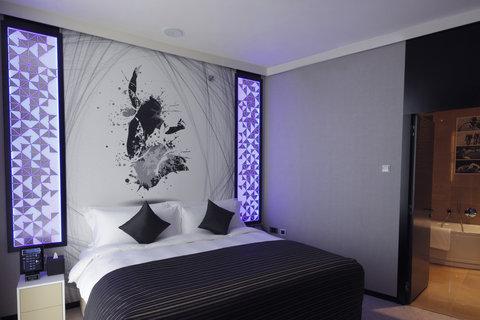 الشعلة الدوحة - Junior Suite Bedroom