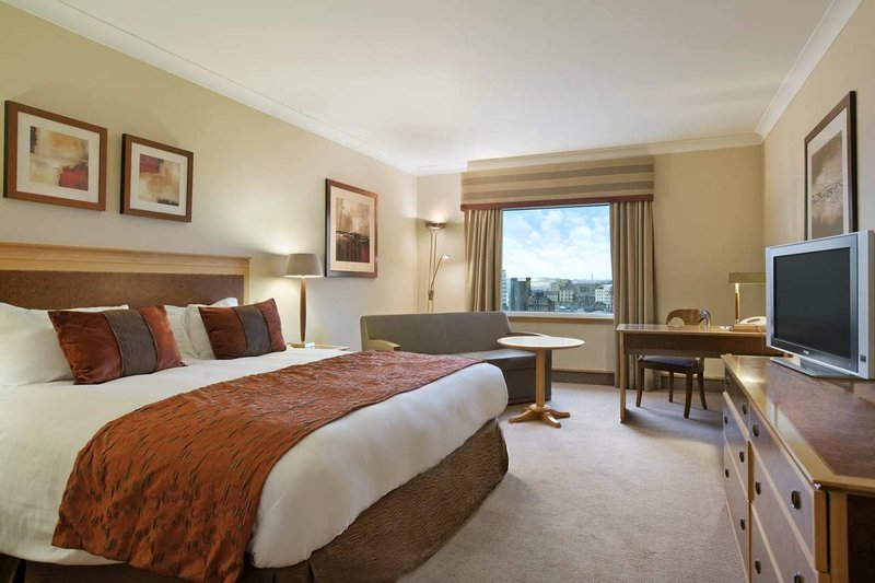 Hilton Glasgow Szobakilátás