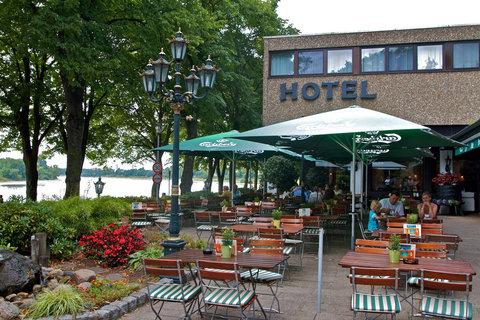 Hotel Rheinterrasse Benrath - Terrace