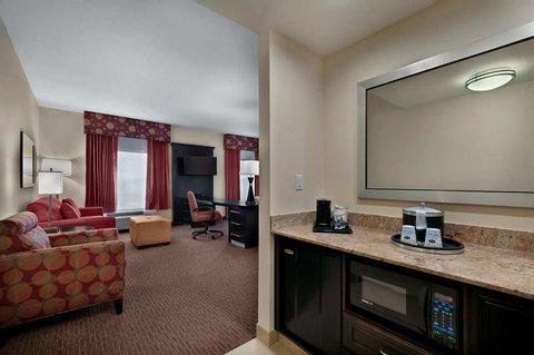 Hampton Inn and Suites Tampa Northwest - King Studio Suite Kitchenette