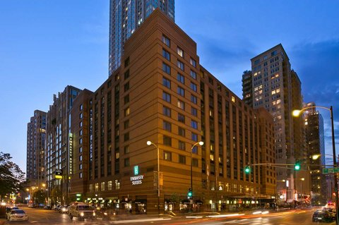 Embassy Suites Chicago - Downtown - Nighttime Exterior