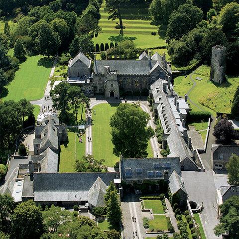 Dartington Hall Hotel - Exterior Aerial View