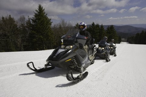 Top Of The World - Snowmobiling