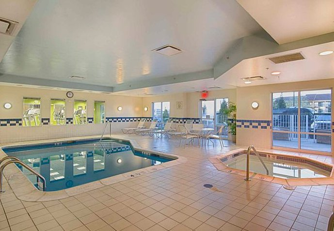 Fairfield Inn and Suites by Marriott Newark Liberty International Airport Fitness-klubb
