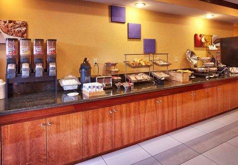 Fairfield Inn & Suites Albuquerque Airport - Breakfast Buffet