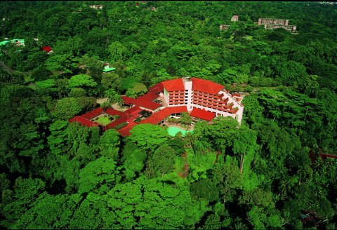 Sabah Hotel - Exterior Aerial View