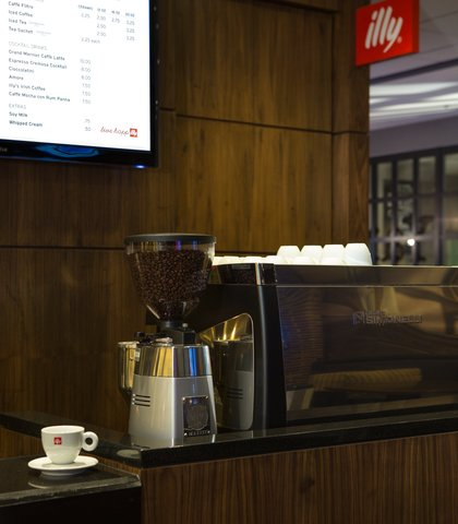 Baltimore Marriott Inner Harbor at Camden Yards - Illy Coffee